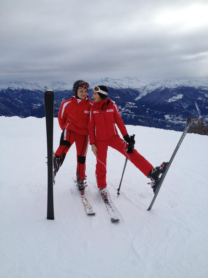 CARRERA goggles VIST ski jacket VIST ski pants SNOWLIFE ski gloves DUEL carving ski  HEAD ski poles NORDICA ski boots