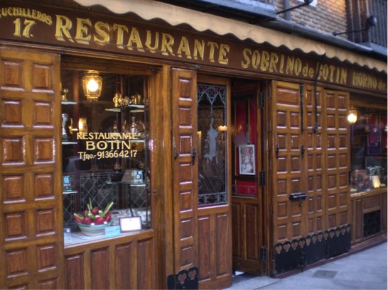 Botin, the world's eldest restaurant