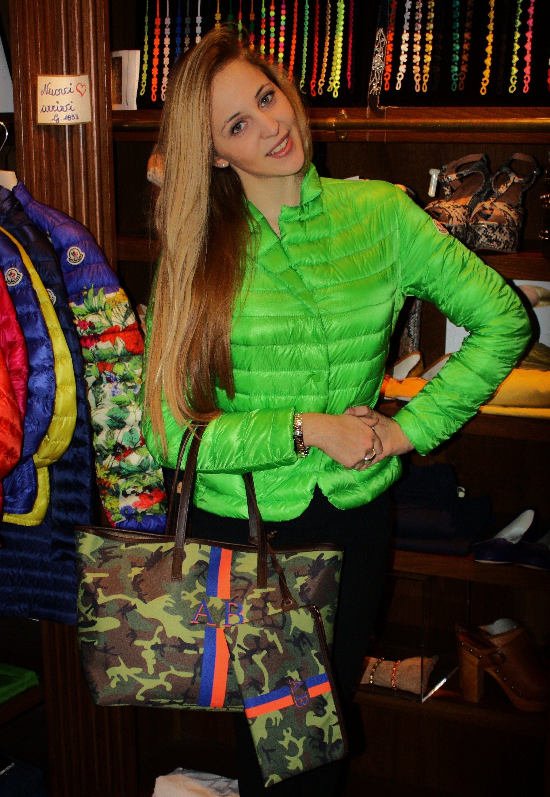 TUA BAG MILITARY & MONCLER JACKET Lifestyleandchilling for Ghiglino