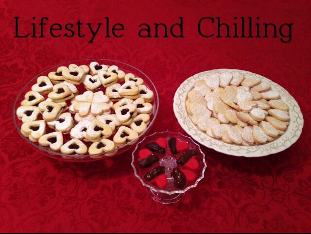 ❤ Heart's cookies❤ ♡ ❤ Biscotti del cuore ❤ www.lifestyleandchilling.net