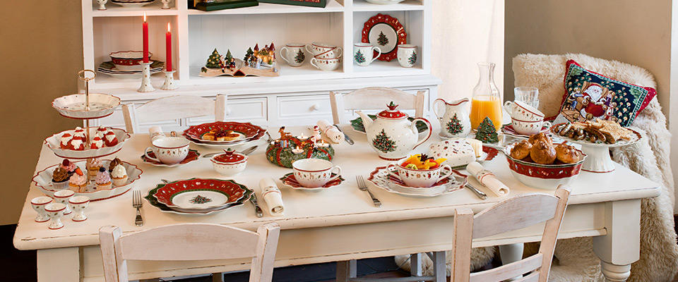 Villeroy boch christmas is in the air lifestyle for Villeroy boch christmas